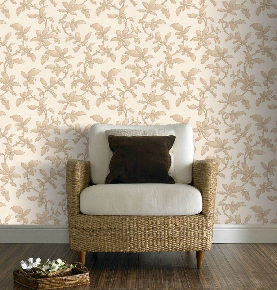 Graham and Brown Premier Sarra Gold 19600 Wallpaper